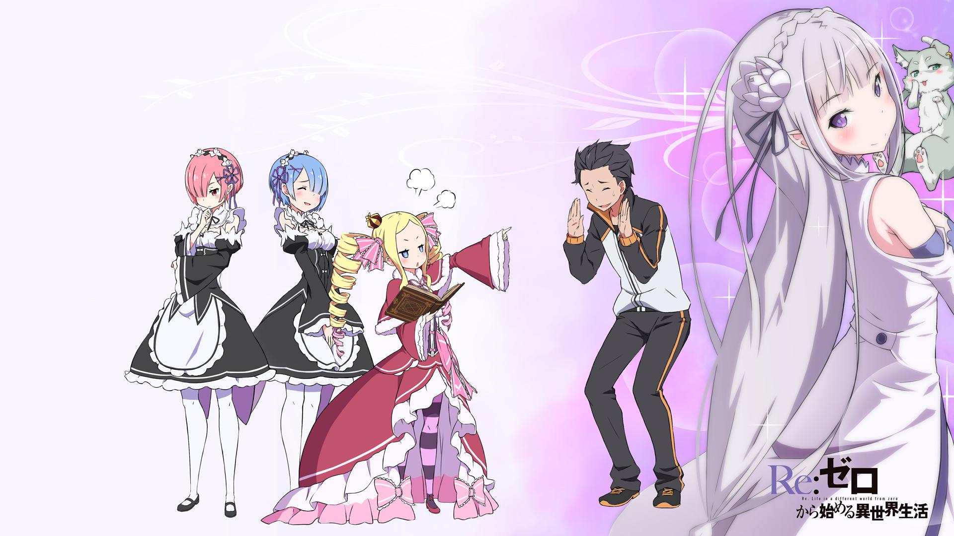 リゼロ デスクトップ Sando Pixiv Anime Anime Images Anime