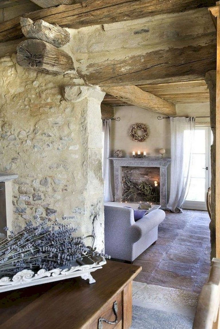 68+ Lovely French Country Living Room Ideas images