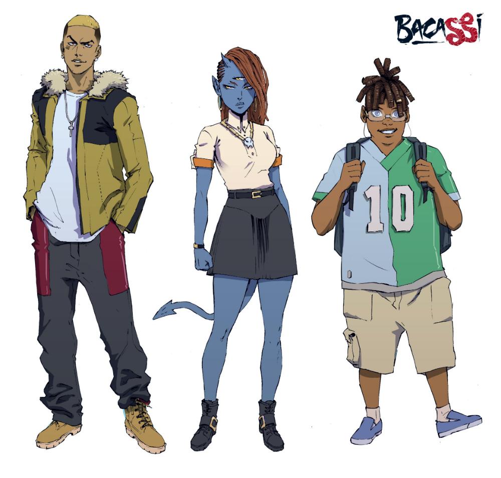Whyt Manga Odunze Whyte Oguguo On Twitter In 2020 Character Design Girl Anime Character Design Black Anime Characters