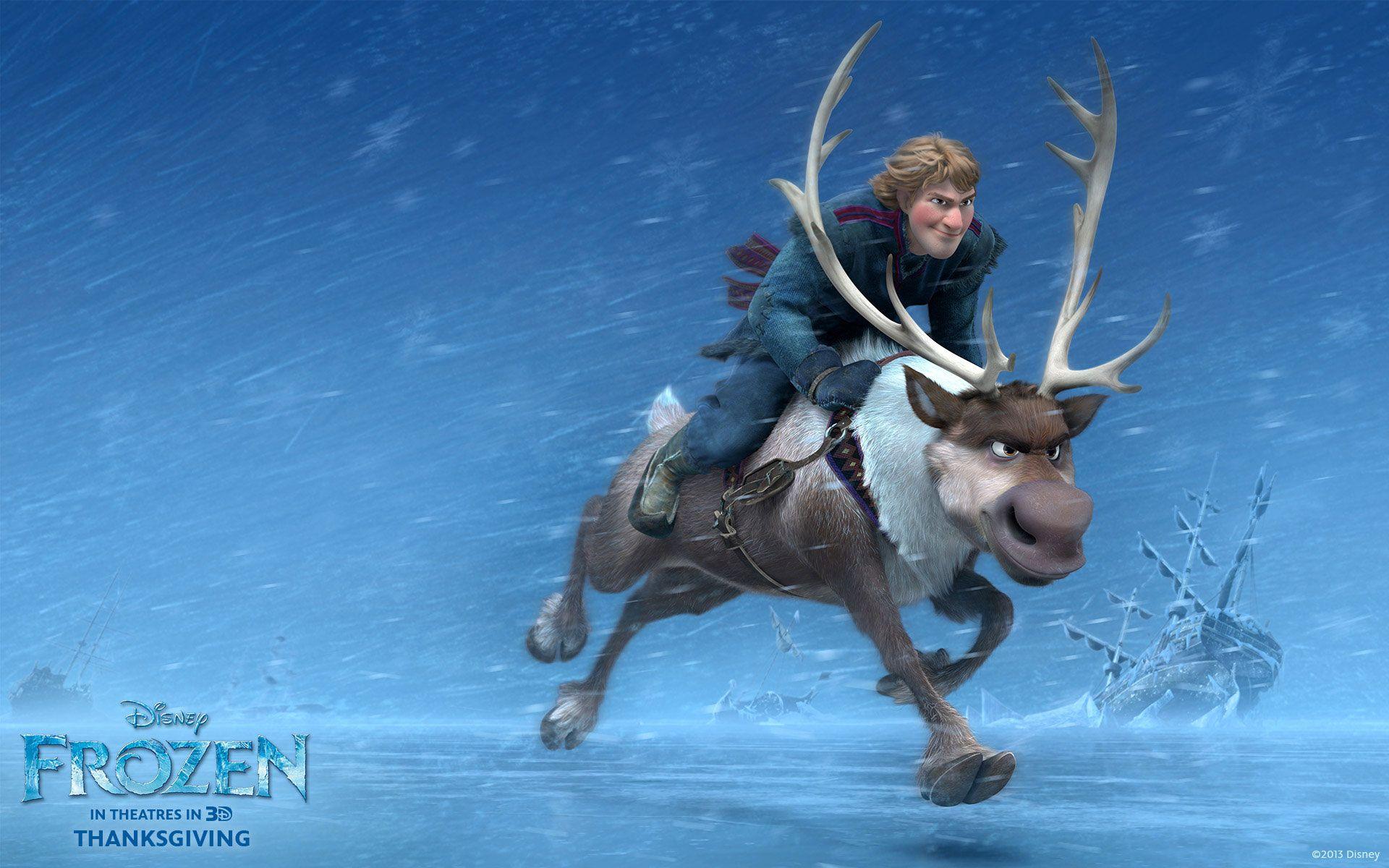 frozen movie pictures | Frozen Movie kristoff Sven HD Wallpaper Frozen 2013 Movie Wallpapers ...
