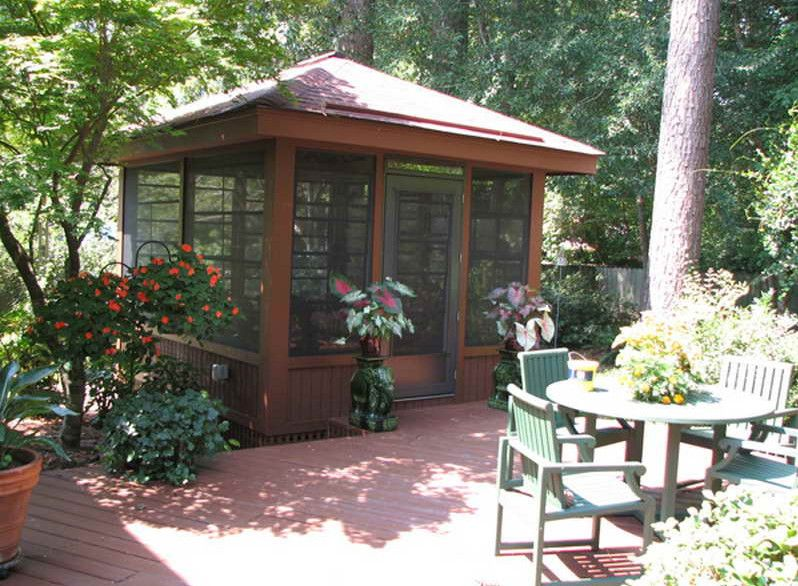 Free Standing Screen Porch Back Porch Screen Ideas Screened In Porch Ideas For This Summer Patio Gazebo Screened Gazebo Screen House