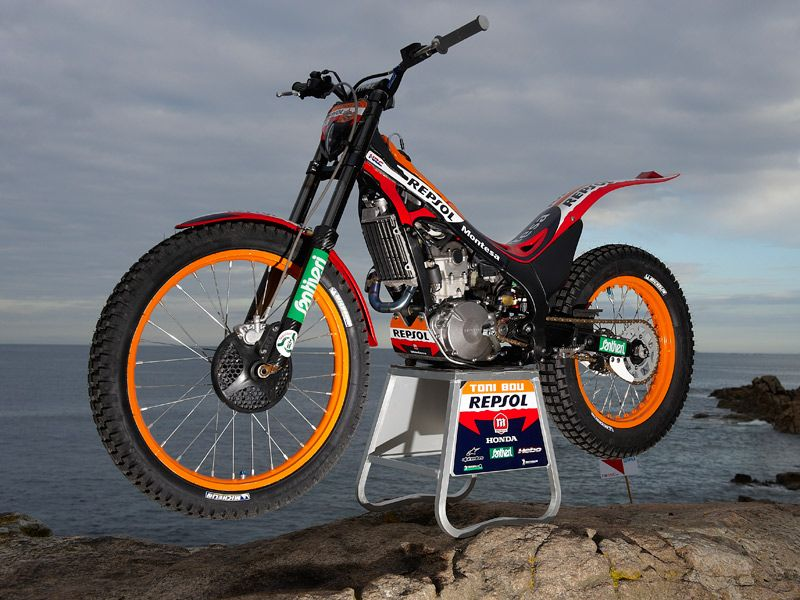 In my opinion the most beautiful trial bike!!!