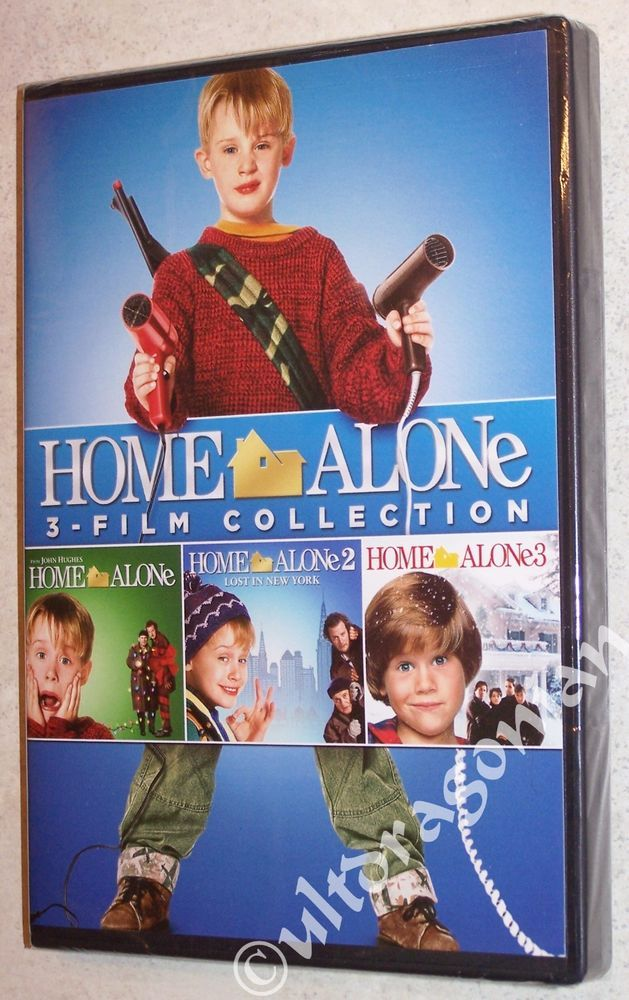 favorite christmas movie home alone collection 1 2 3 dvd 3 movie set trilogy 1 3 brand new
