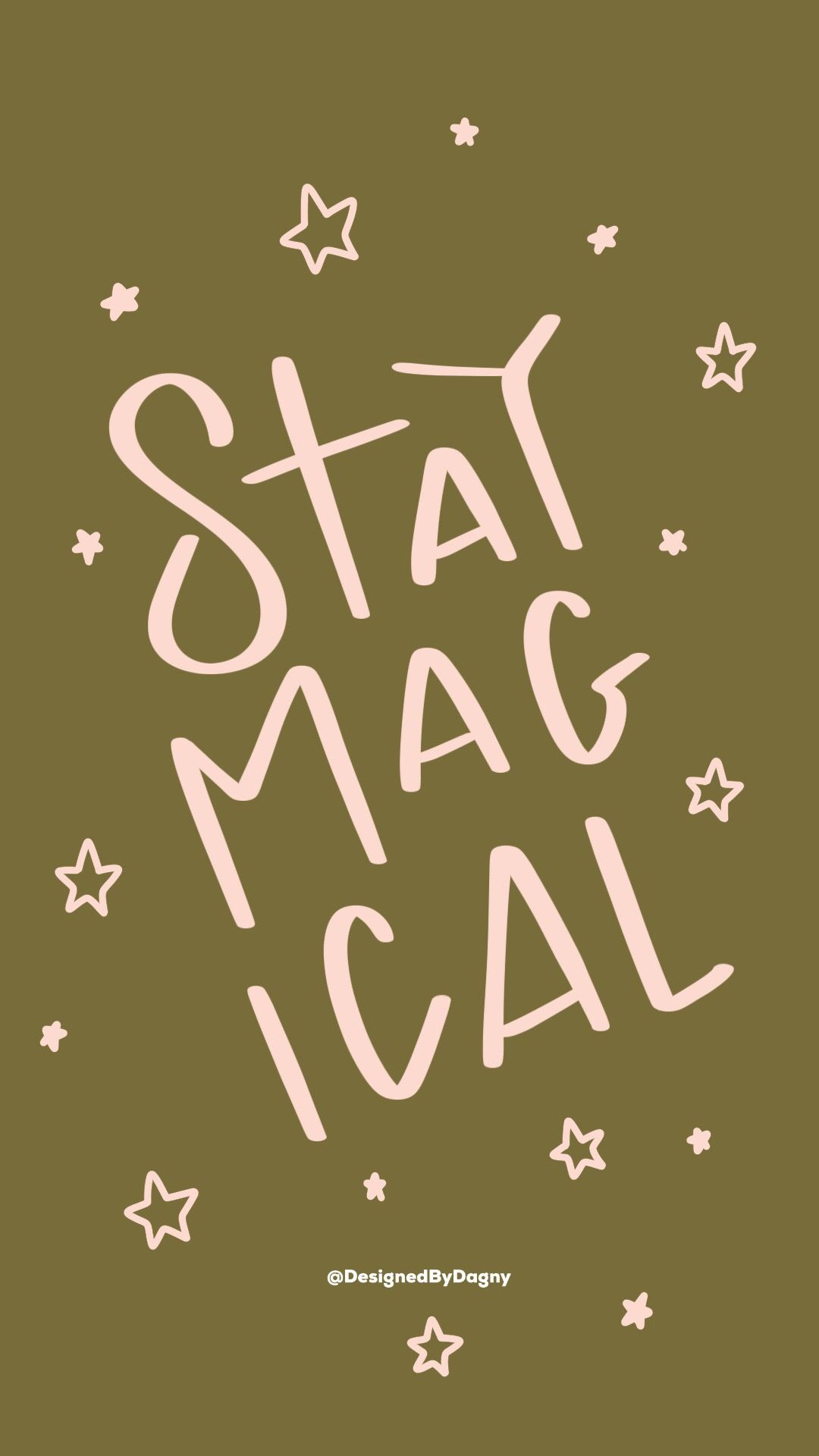 Stay Magical Wallpaper Available In My Etsy Shop