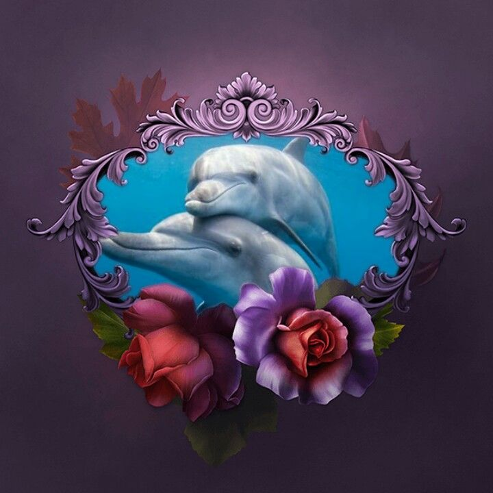 Pin By Carla Morim On Dolphins Dolphin Art Dolphin Wall Art Dolphins Tattoo