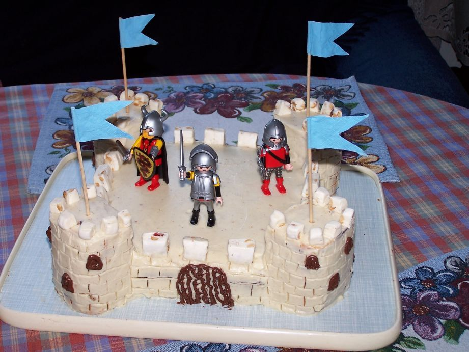 Knight s castle cake recipe