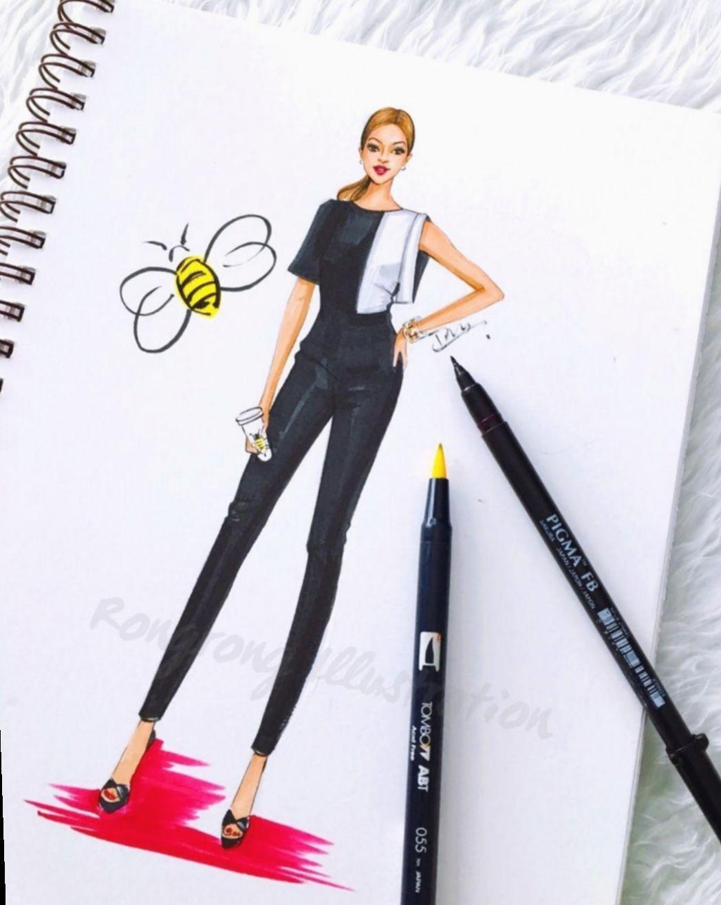 Fashion Design Sketches Summer Usa India Instgram In 2020 Fashion Design Sketches Fashion Illustration Sketches Dresses Fashion Illustration Dresses
