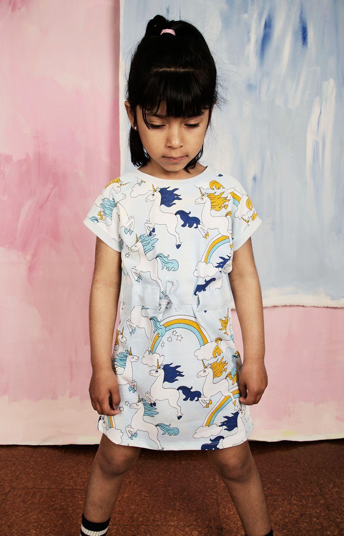 Blue apron unicorn - Mini Rodini Sneak Peek Ss16