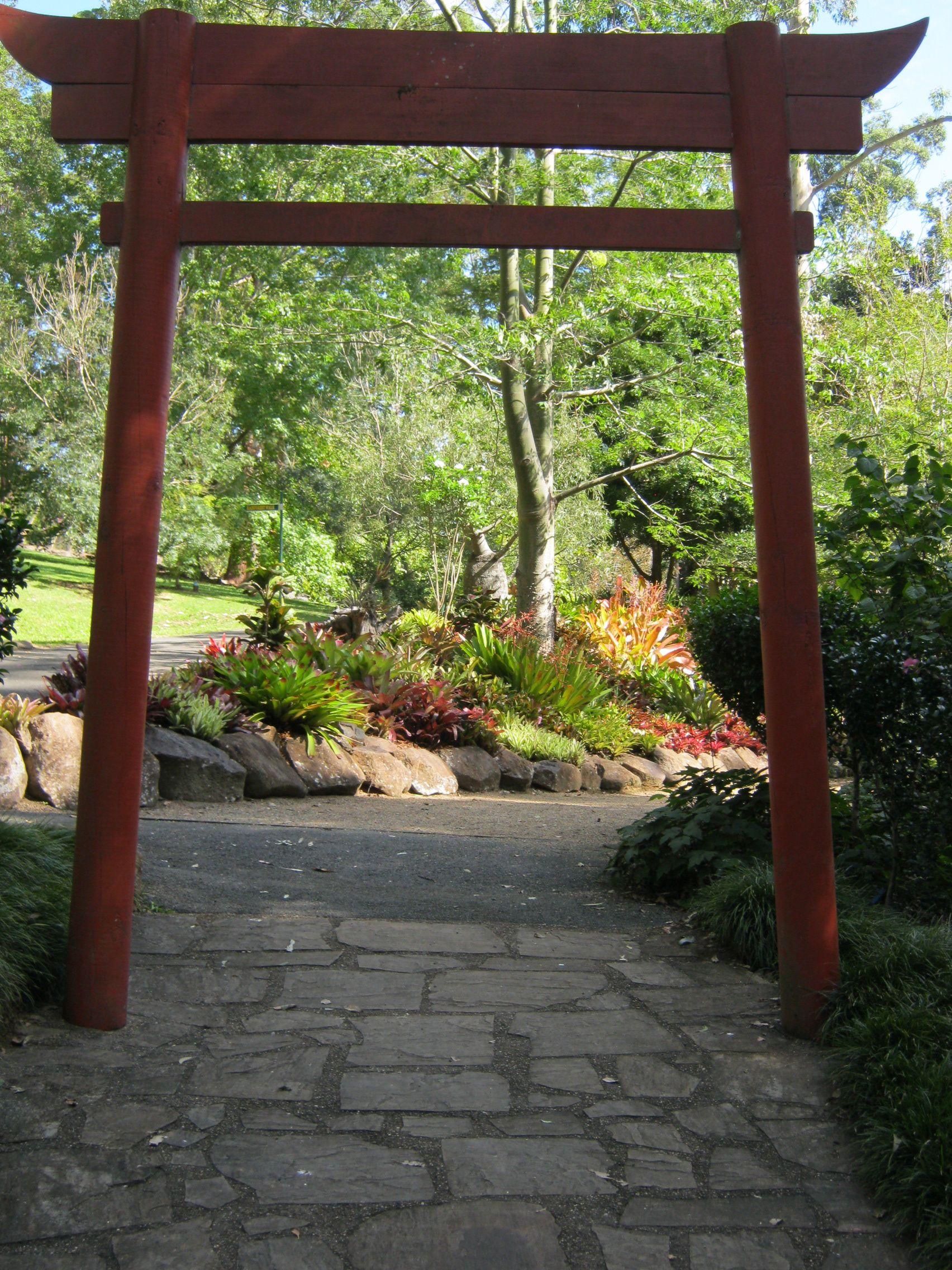 Torii Gate, Tamborine Botanic Gardens | Tamborine Mt ...