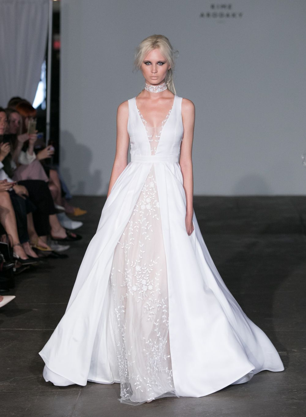 new york bridal fashion week is in full swing, and i'm bringing you