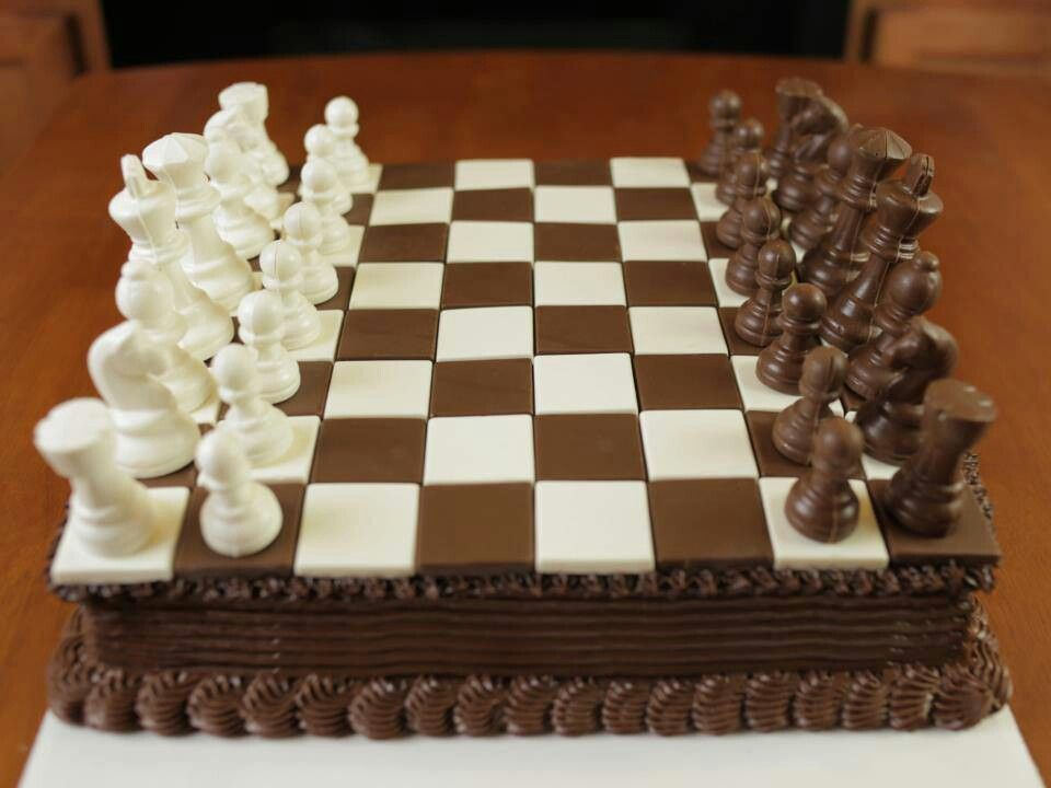 Nerdy Nummies Chess Cake