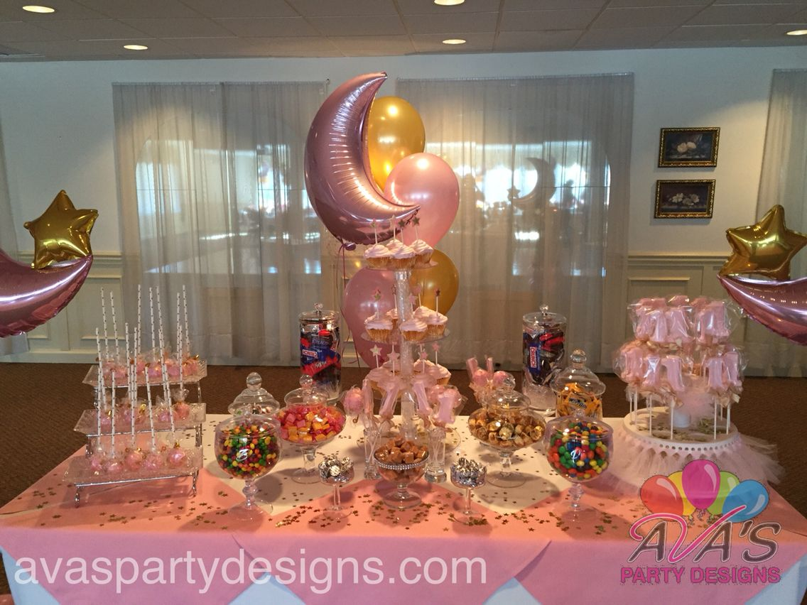 Twinkle little star candy buffet display