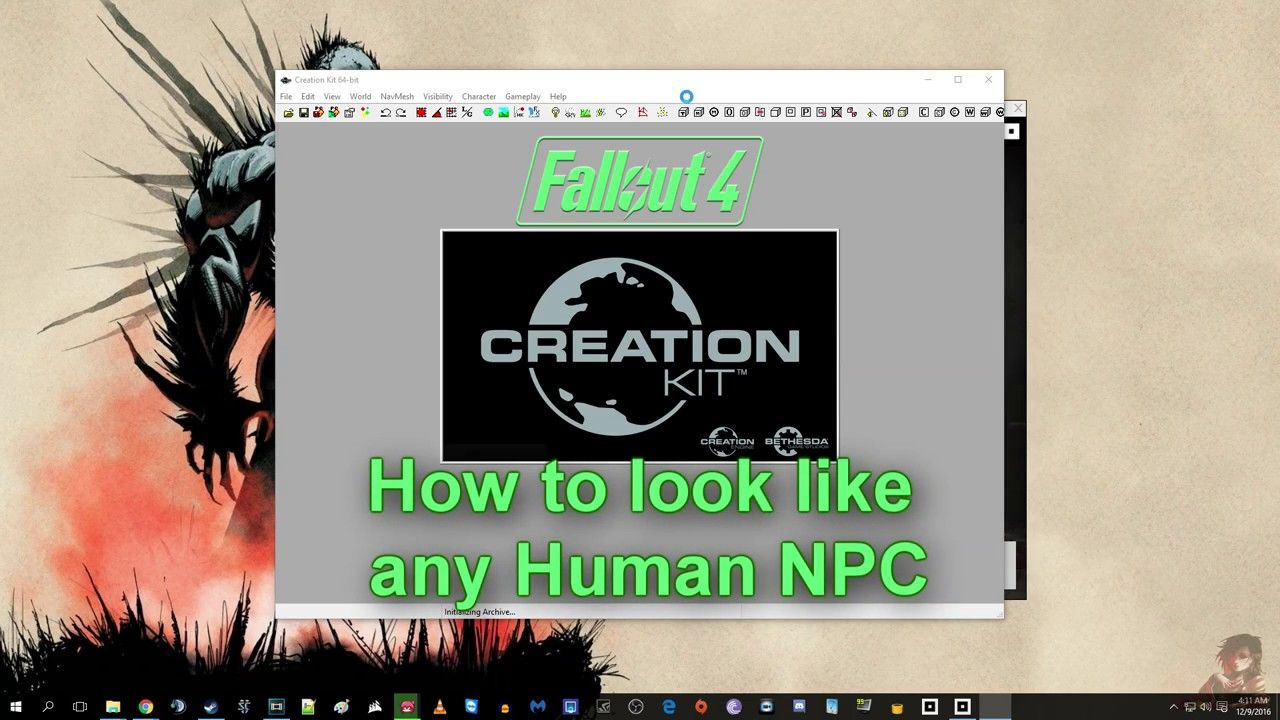 Fallout 4 creation kit tutorial how to play as any human npc fallout 4 creation kit tutorial how to play as any human npc fallout4 baditri Gallery