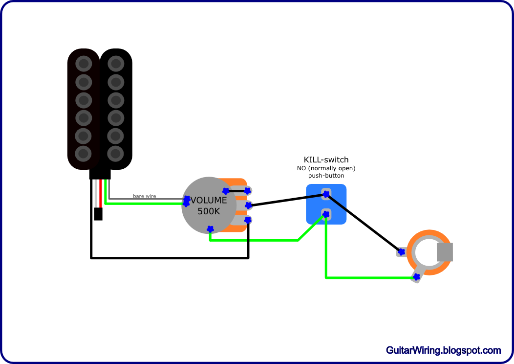Guitar Wiring Diagrams  Customization  Diy Projects  Mods