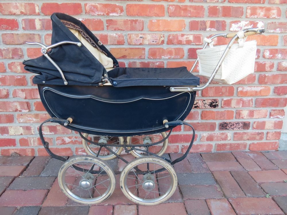 Vintage babyzimmer ~ Vintage 1950s 60s allwin baby doll buggy carriage stroller pram