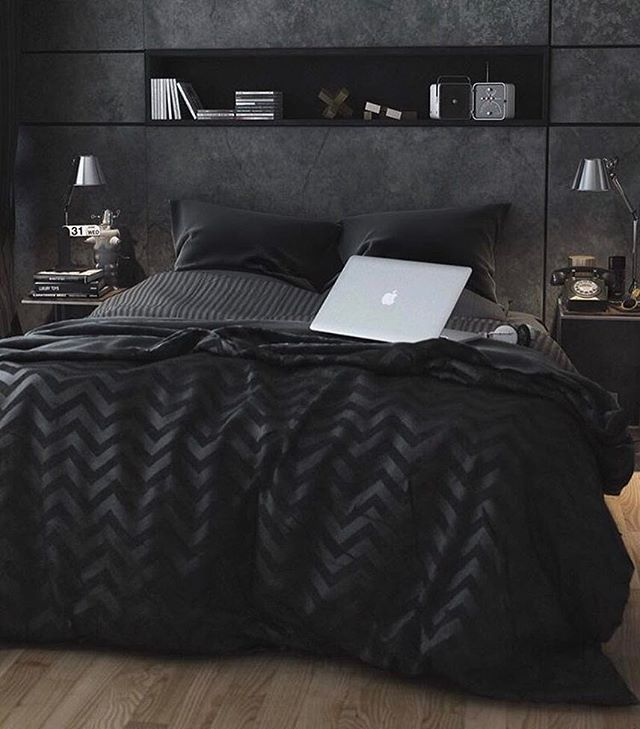 Blacked out Room  Would you Sleep here?  ⠀  Follow us @luxvibez for an Exclusive Luxury Lifestyle  Remember to Turn on Post Notifications  Tag a Friend who would enjoy our profile