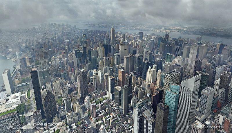 Manhattan after storm