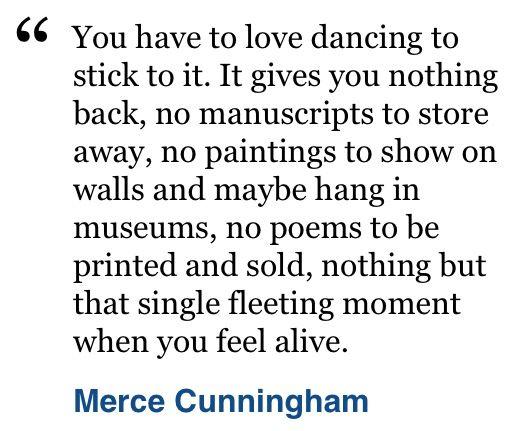 Cunningham on Dance