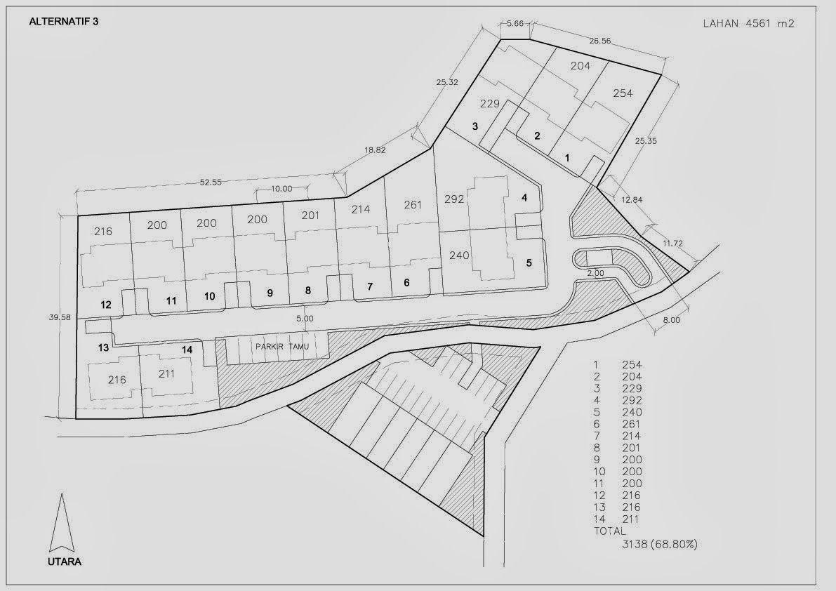 Site Plan Tanah The Plan Perencanaan Gambar 3d