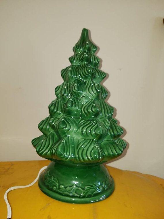 Lighted Christmas Tree, Lighted Ceramic Christmas Tree Holland Mold