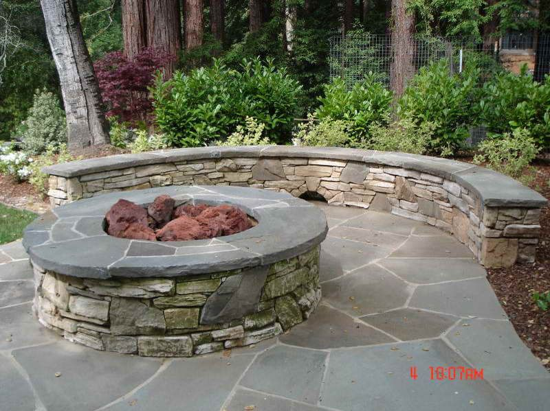 Patio Ideas On A Budget With Firepit Fire Pit Insert To The Patio Bring The Fire Pit Insert To The Patio Modern Outdoor Patio Fire Pit Patio Budget Patio