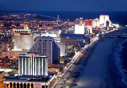 Atlantic City Nj Atlantic County Is An Internationally Renowned Resort City For Gambling Conventions And Atlantic City Casino Atlantic City Vacation Spots