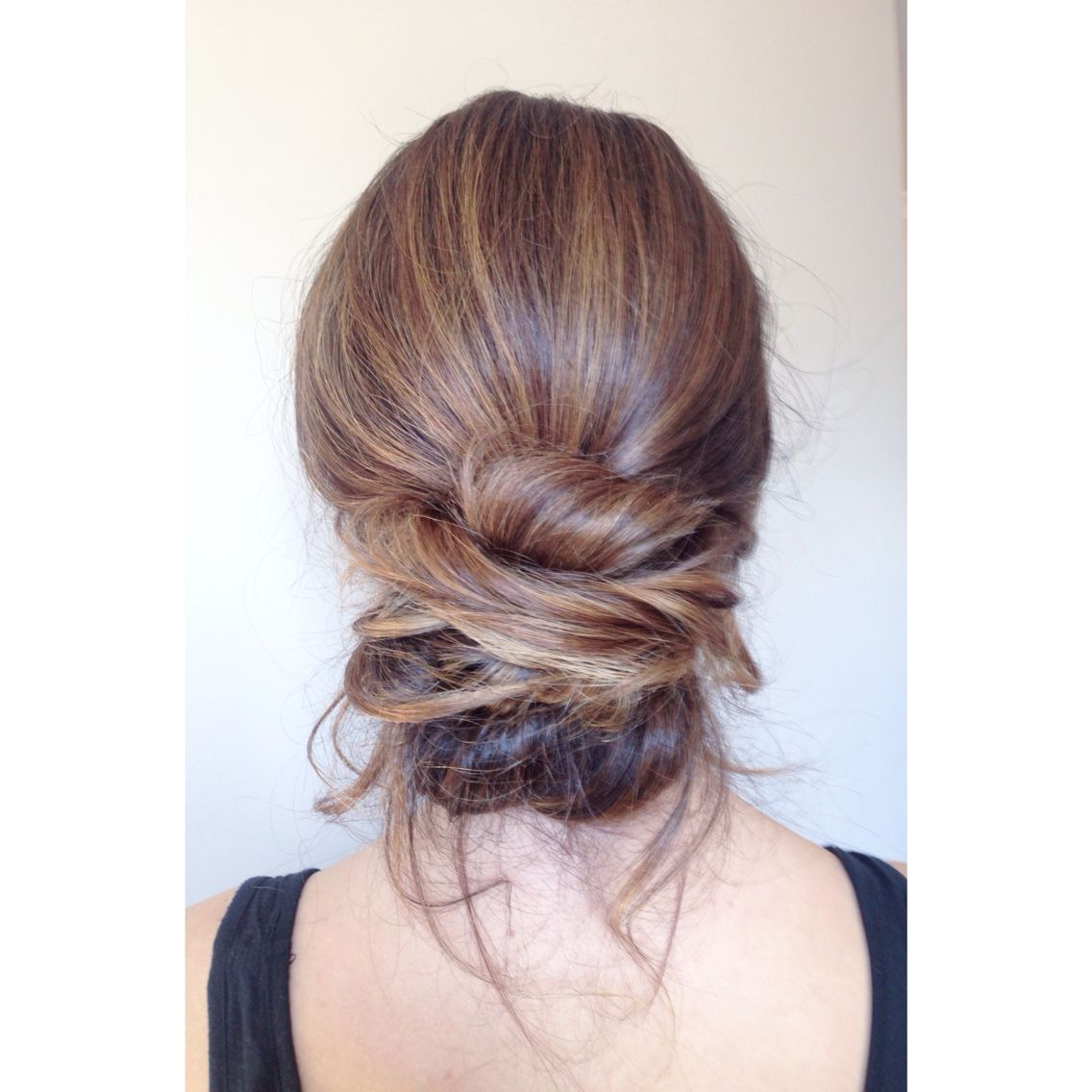 soft bridal wedding hair. low messy bun by kayla marshall wedding