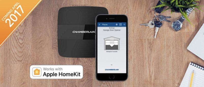 Ces 2017 Chamberlain Reveals Homekit Compatible Smart Garage Door