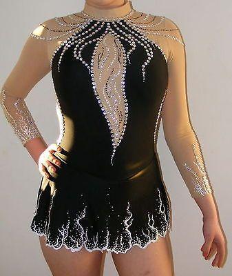 Ice skating dress/Baton Twirling/Rhythmic leotard/Aerial gymnastics Made to Fit