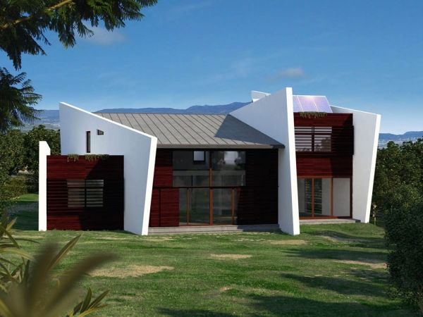 chalets modernos construcciones konstrum valladolid galicia asturias calidad chalets viviendas construccion locales comerciales naves rehabilitaciones - Chalets Modernos