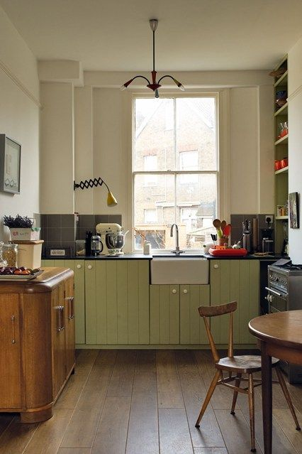 Going Green | Kitchen design, Kitchens and Green kitchen cabinets