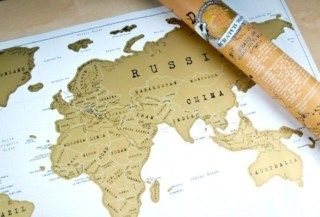 Scratch map personalised world map travel gifts by getting scratch map personalised world map travel gifts by getting personal gumiabroncs Image collections