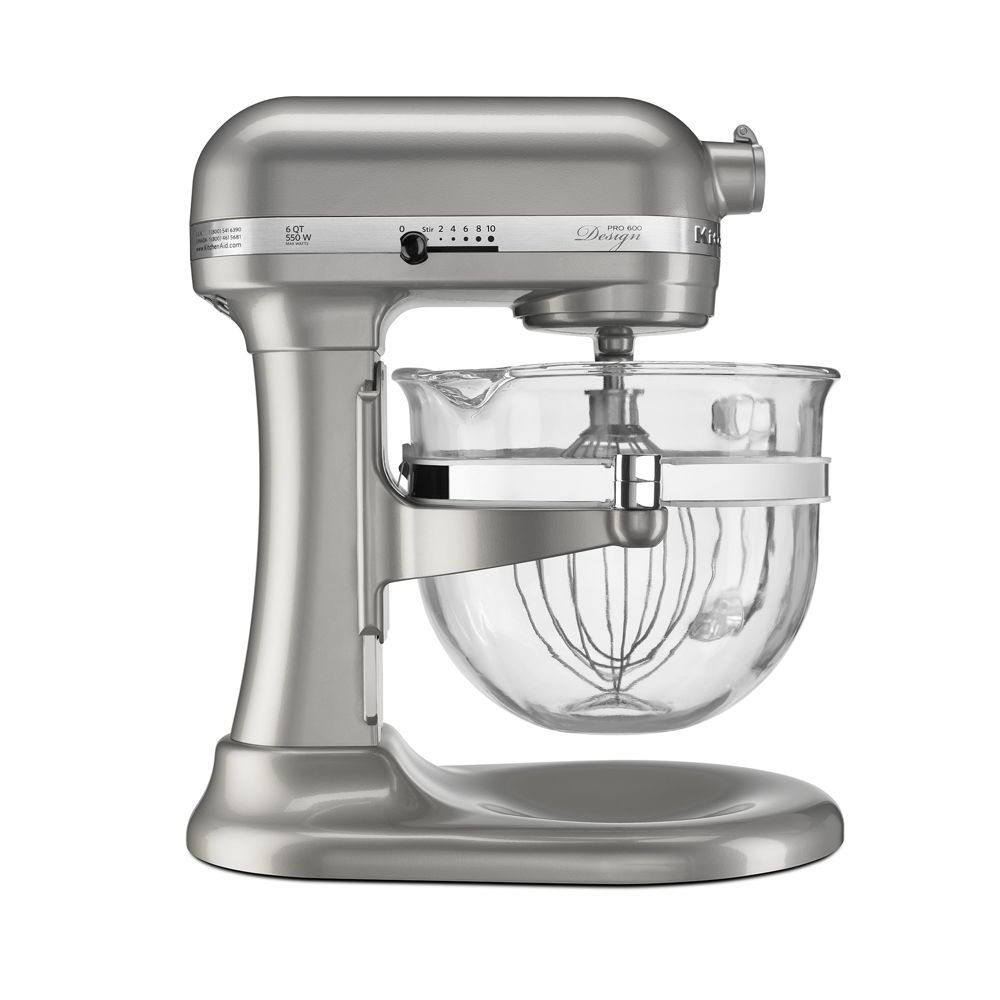 Pro 600 Stand Mixer With Glass Bowl Kf26m22 Kitchen Aid