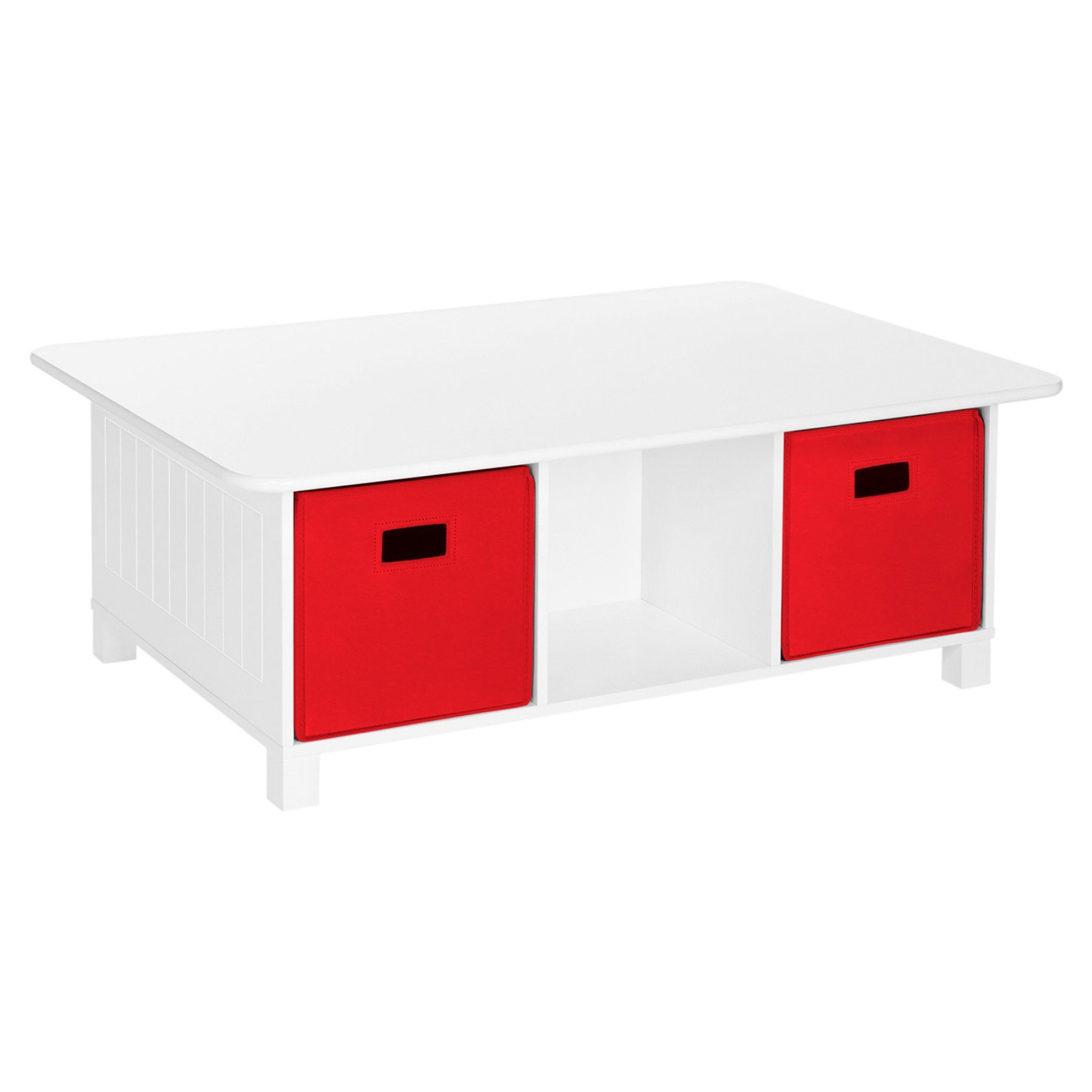 Riverridge Home Kids Activity Table With Storage Cubby Storage