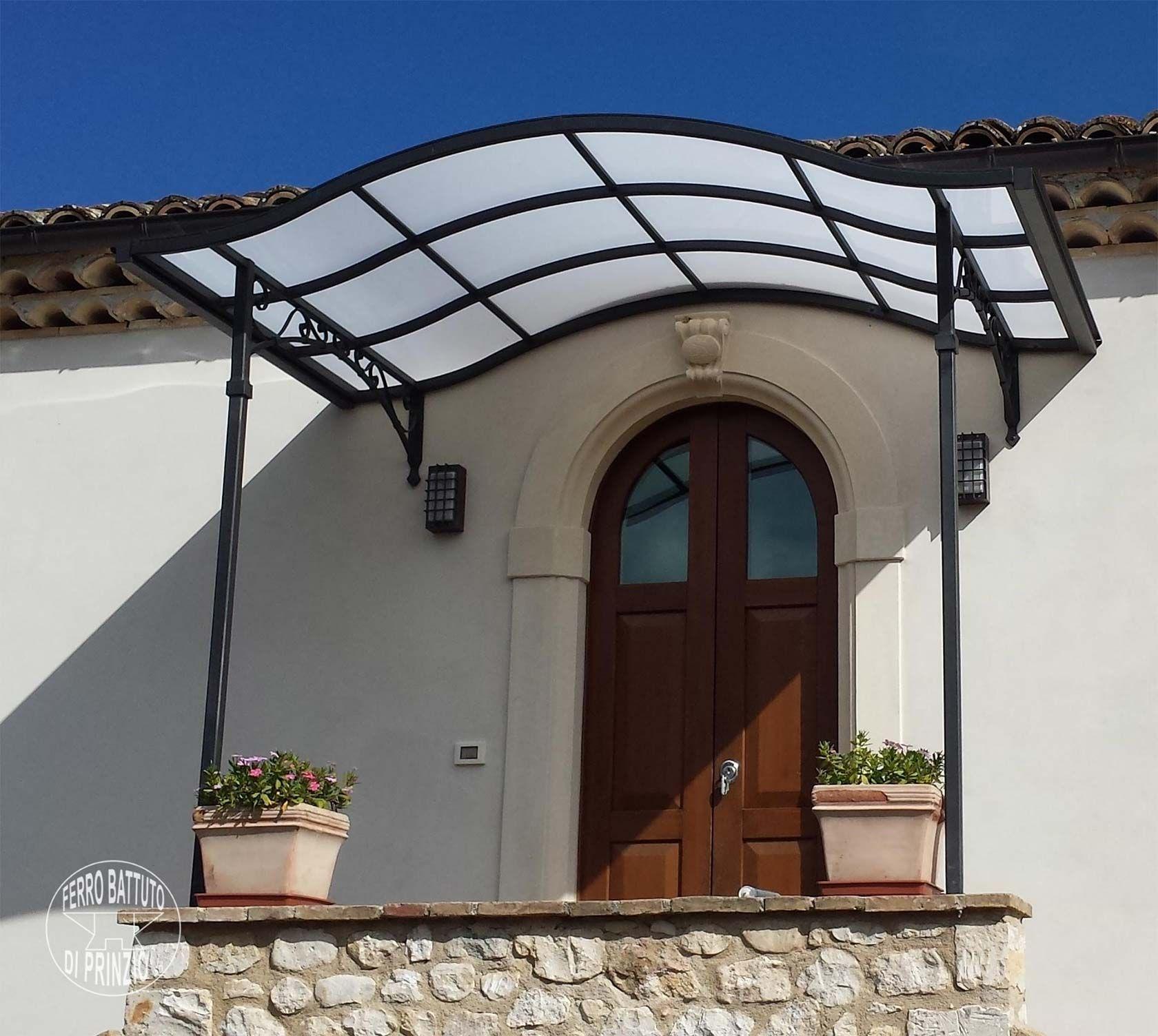Tettoie: Tettoie in ferro battuto, tettoia per terrazzo, tettoia per ...