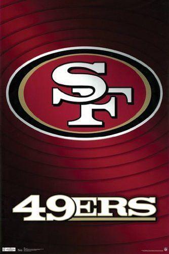 49ERS POSTER San Francisco Logo RARE HOT NEW 24x36