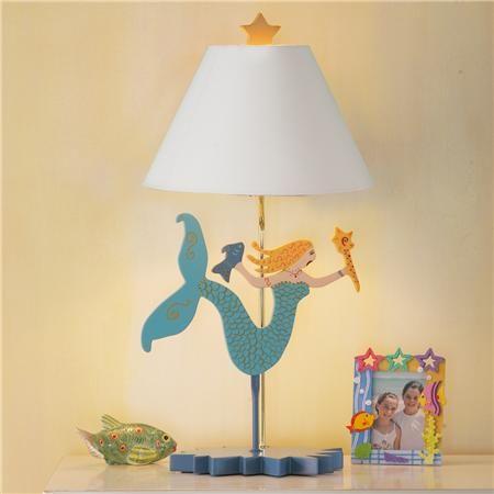 Mermaid Lamp Great For A Kids Room!