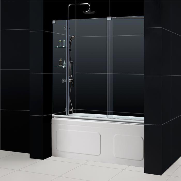 Mirage Frameless Sliding Shower Door. DreamLine Bathroom Shower ...