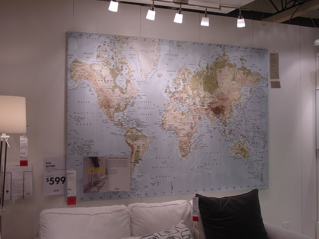 Ikea Premiar World Map World Map Wall Decor Ikea World Map Ikea Premiar