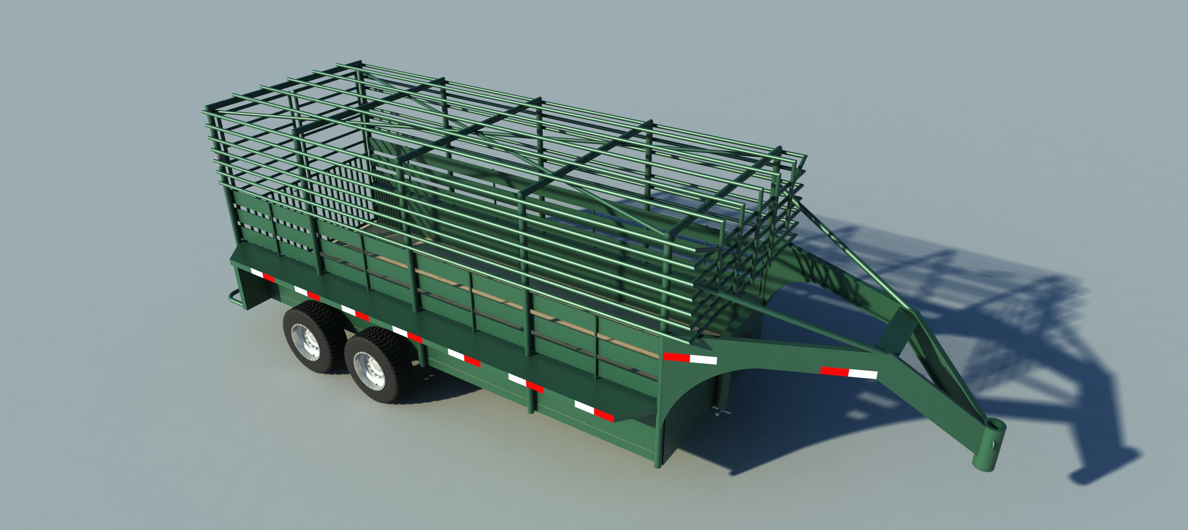 Build your own 16' Gooseneck Trailer (DIY Plans) Fun to build! Save money!