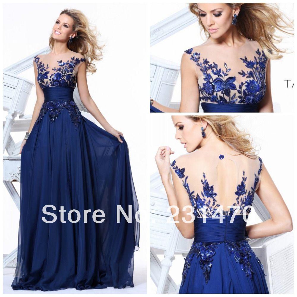 Elegant Blue Party Dresses