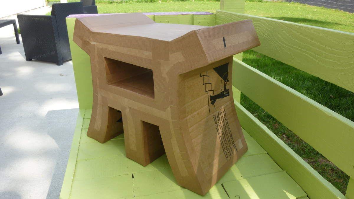 Suite Du Tabouret Ming En Carton Muebles De Carton Pinterest # Frank Gehry Muebles De Carton