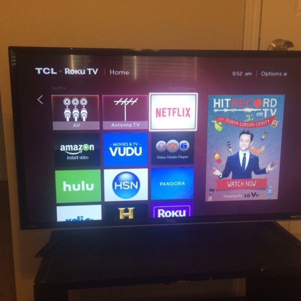 """For Sale: TV - TCL 32"""" LED Roku TV for $150"""