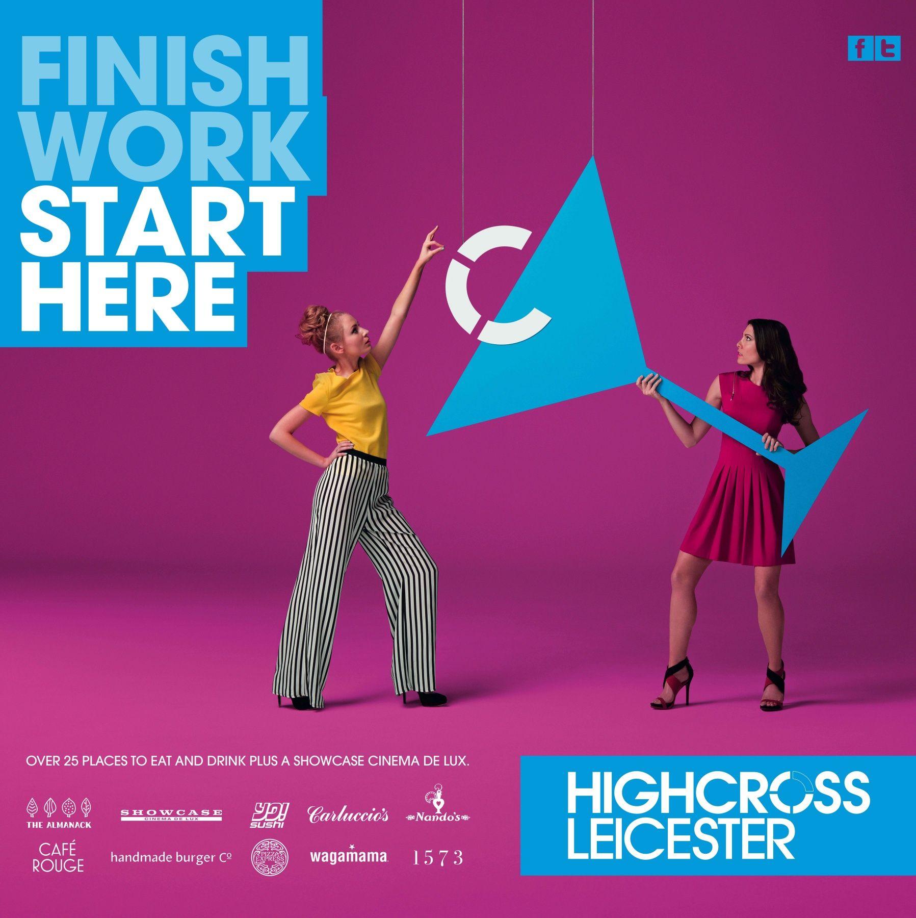 Creative Ideas Leicester: Mall Design, Advertising Design