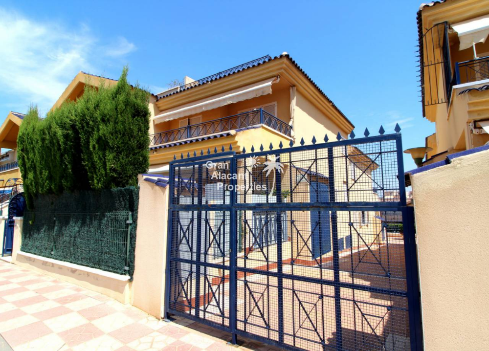 REF 10226 Novamar corner house with sea views & garage