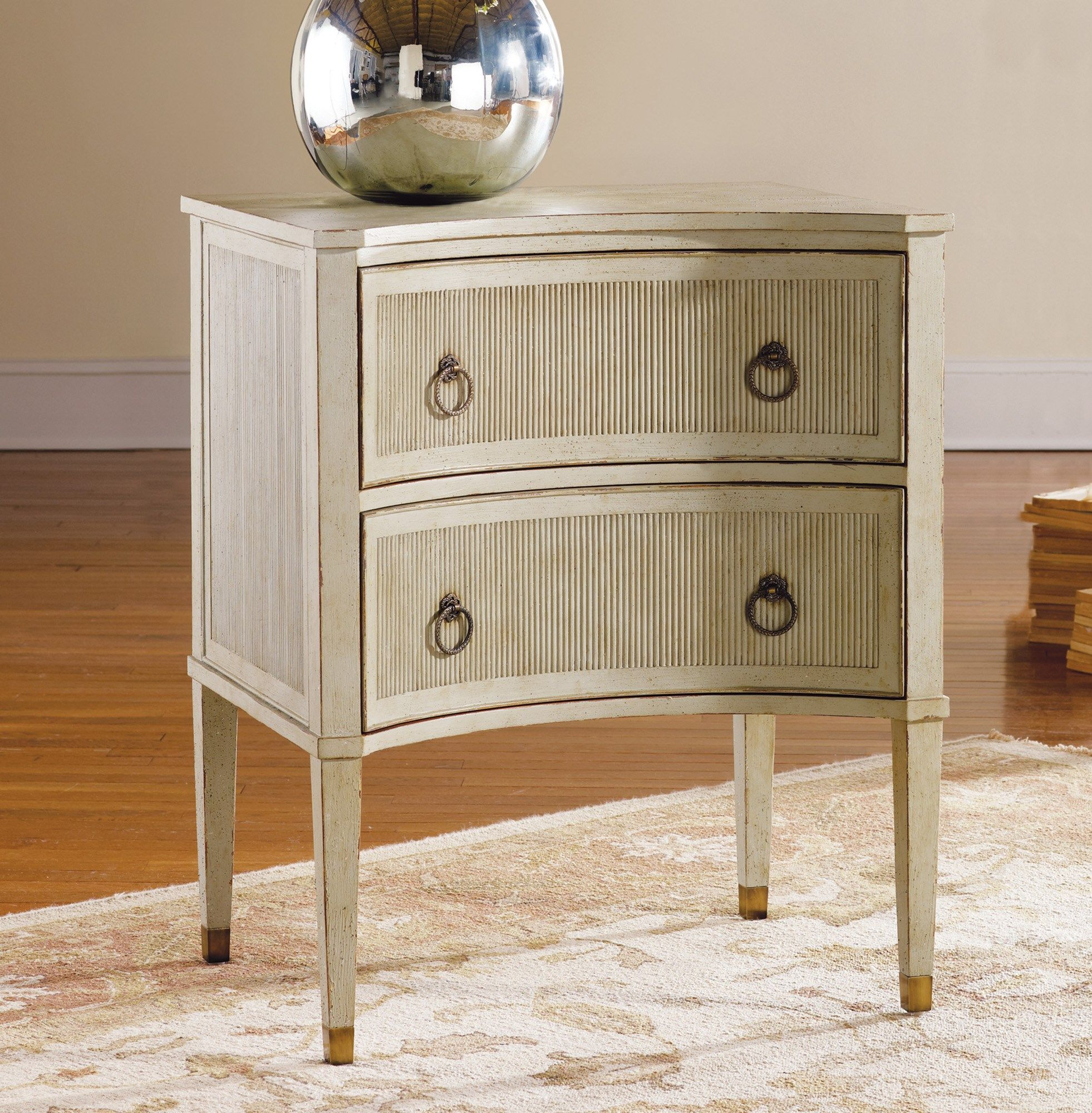 Painted Gustavian Bedside Chest Chests Modern History