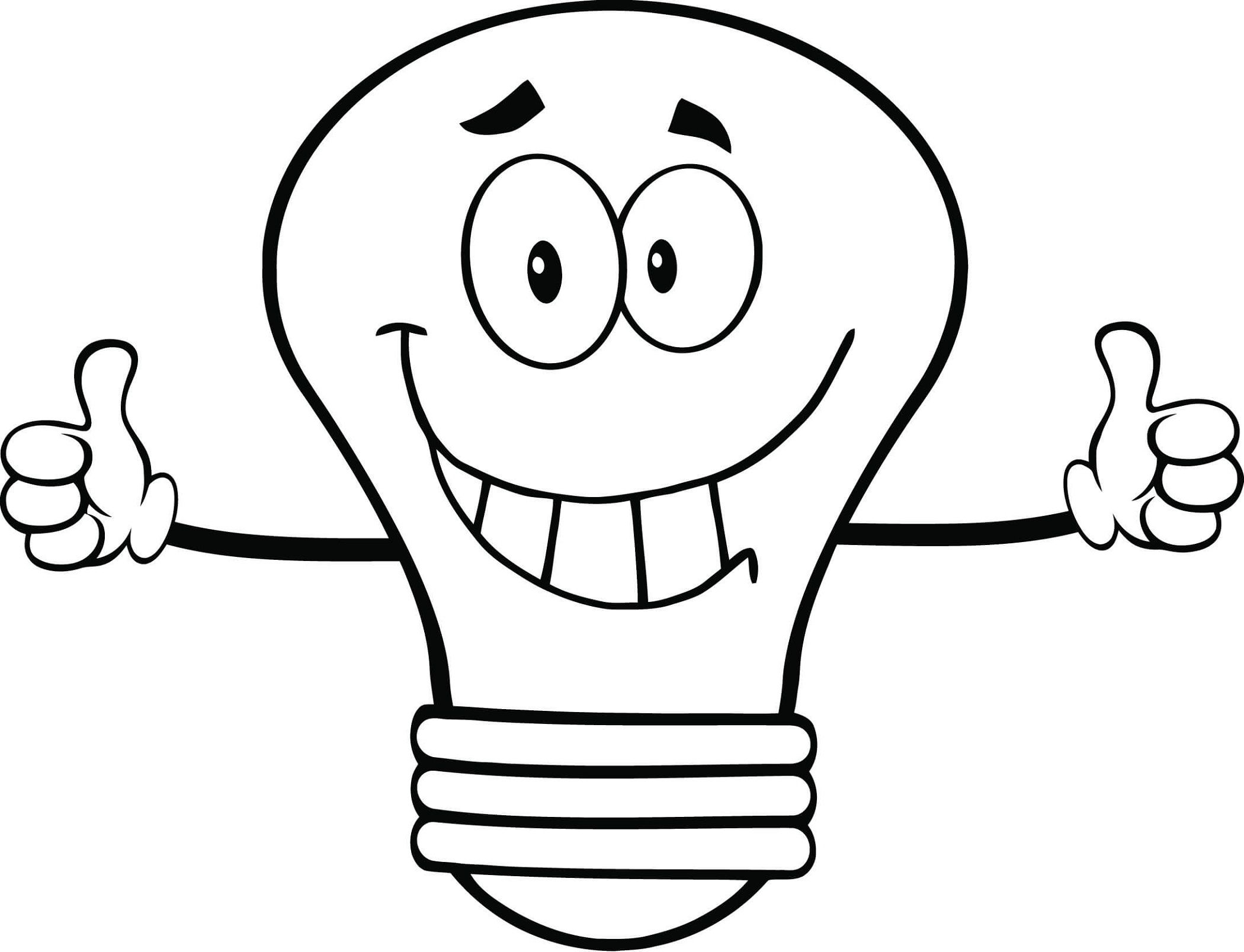 Light Bulb Coloring Pages Coloring Pages Coloring Worksheets For Kindergarten Free Printable Coloring Pages