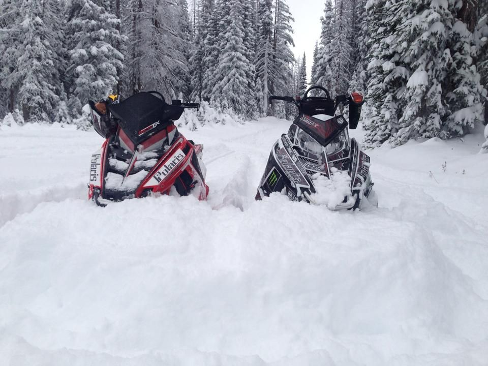 Chris Burandt early october pow! Snowmobile, Used boats