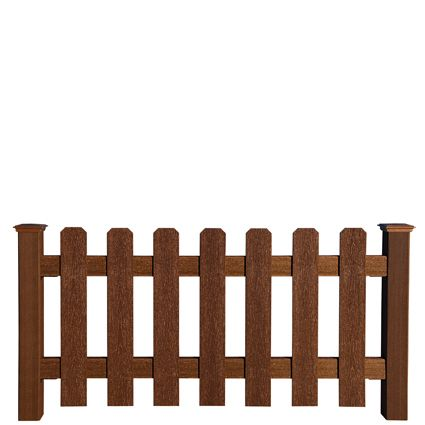 Best Building A 3 2 Rail Fence With Pickets With Images 400 x 300