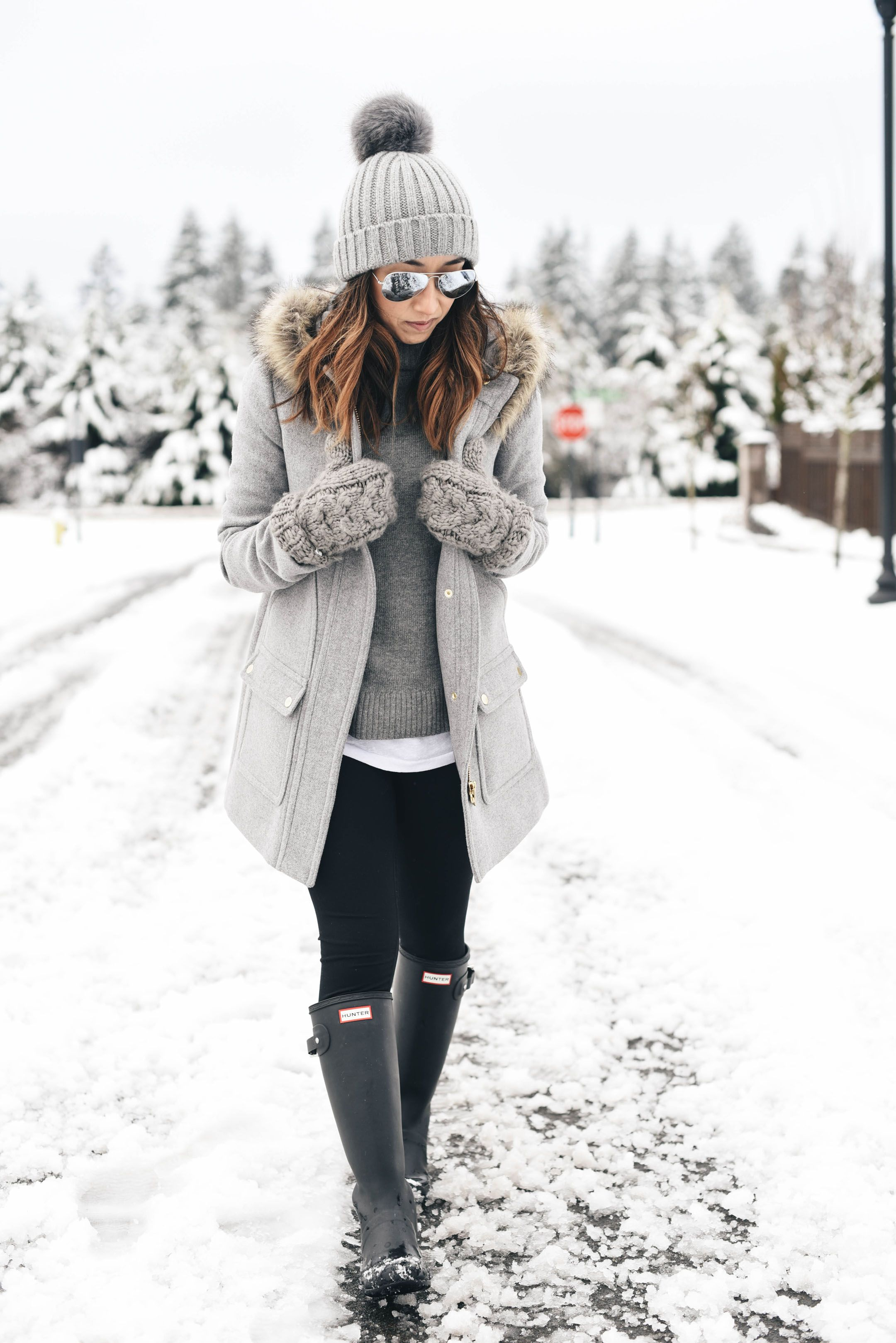 Snow Look + Best Winter Sales (Crystalin Marie)